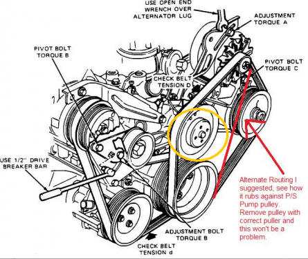 Noise From Belt Water Pump Pulley Ford Focus Club Ford Owners Club Ford Forums