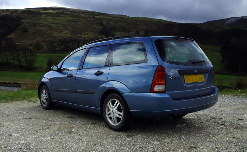 Ford Focus Estate 1.6 Zetec (Rear)