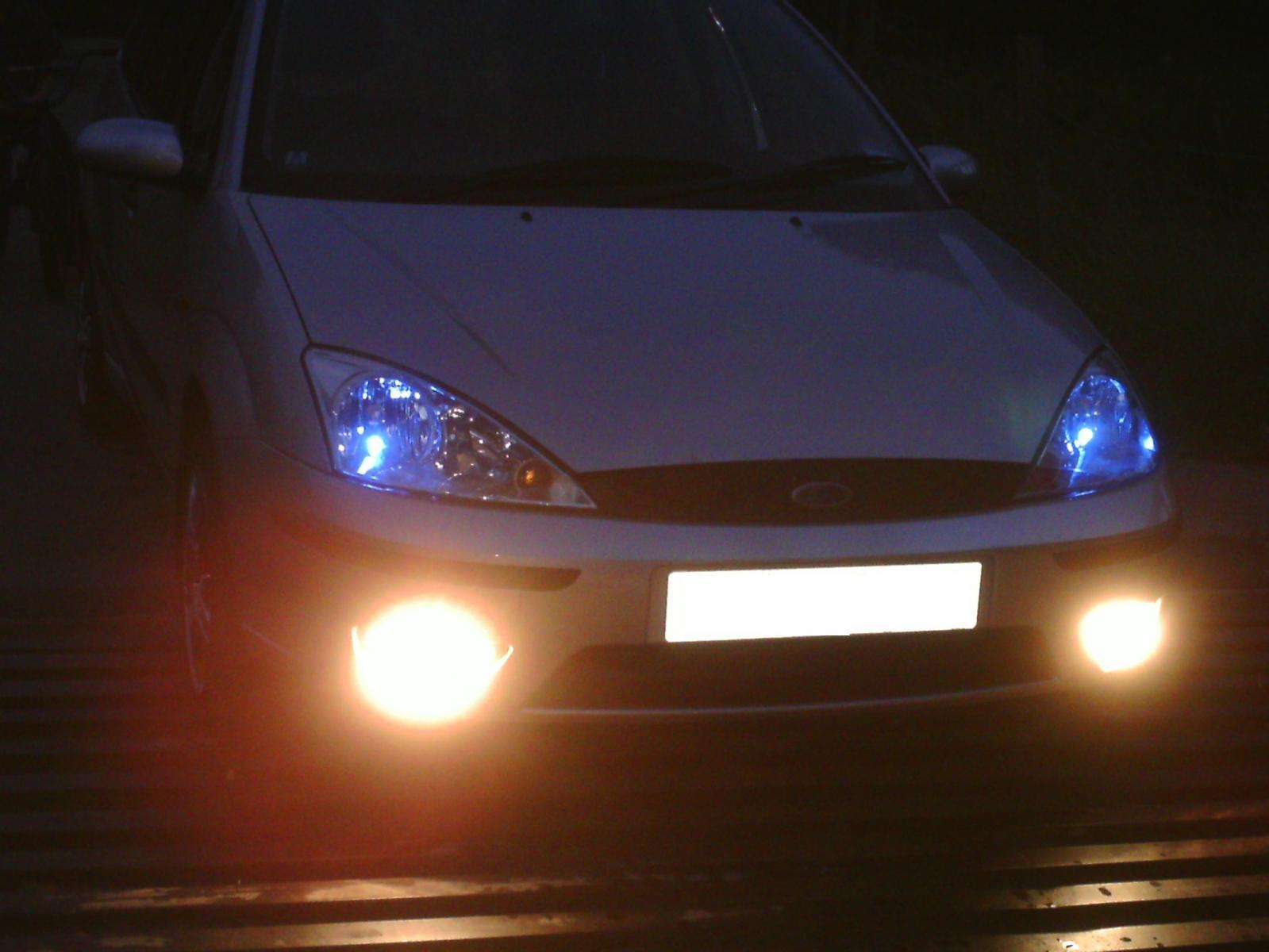 Focus Estate at night