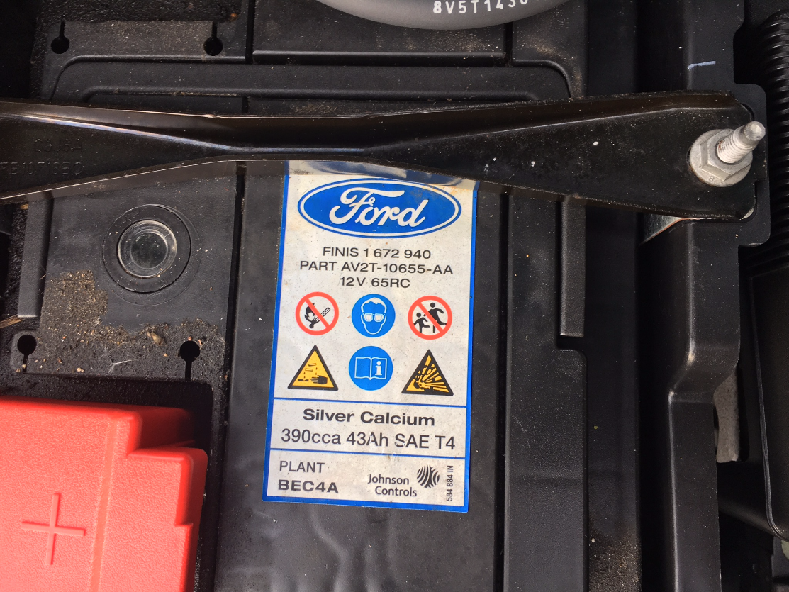 Dead Battery Ford Fiesta Club Ford Owners Club Ford Forums