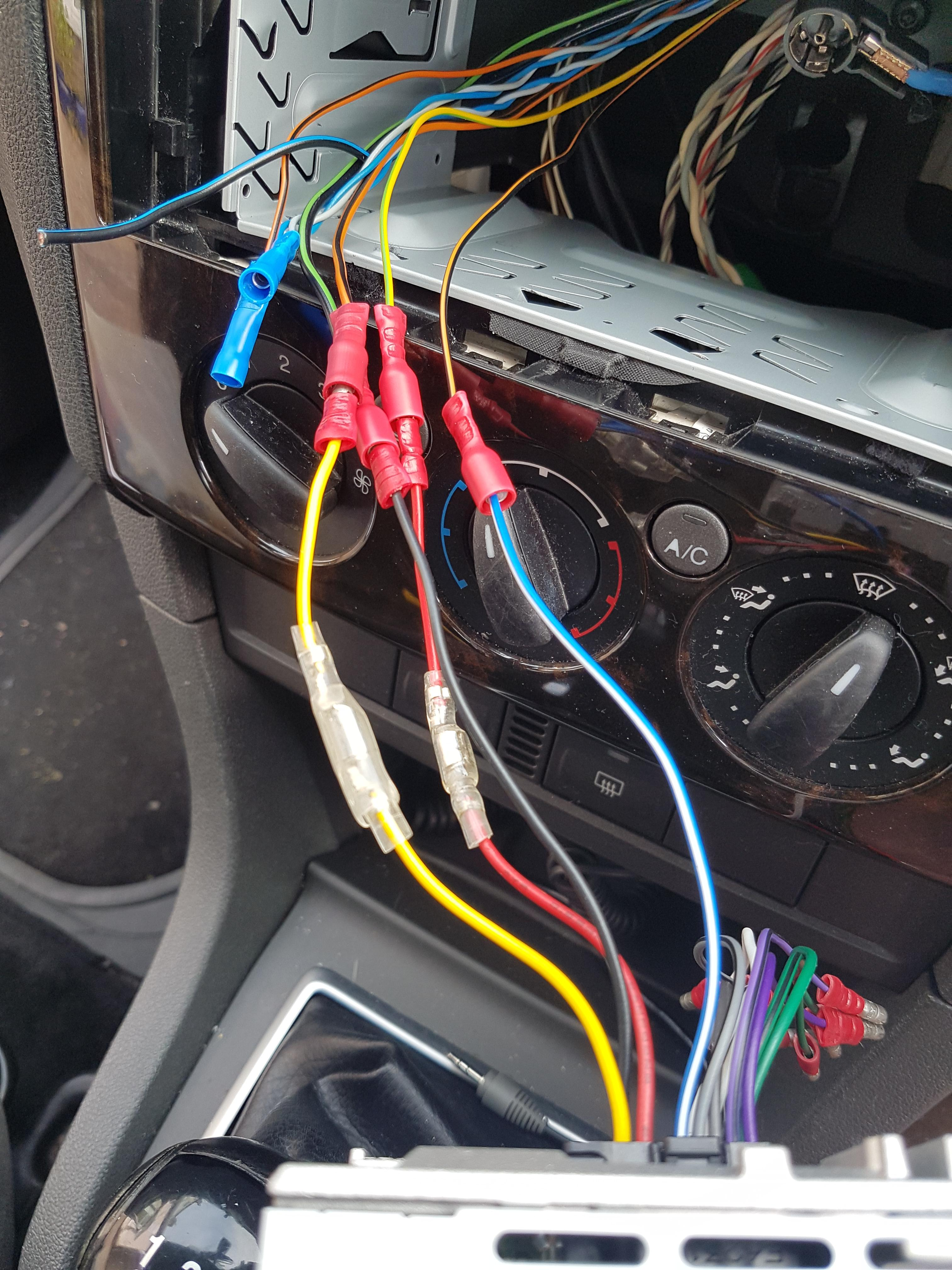 Radio Wiring Colour Coding Assistance Needed