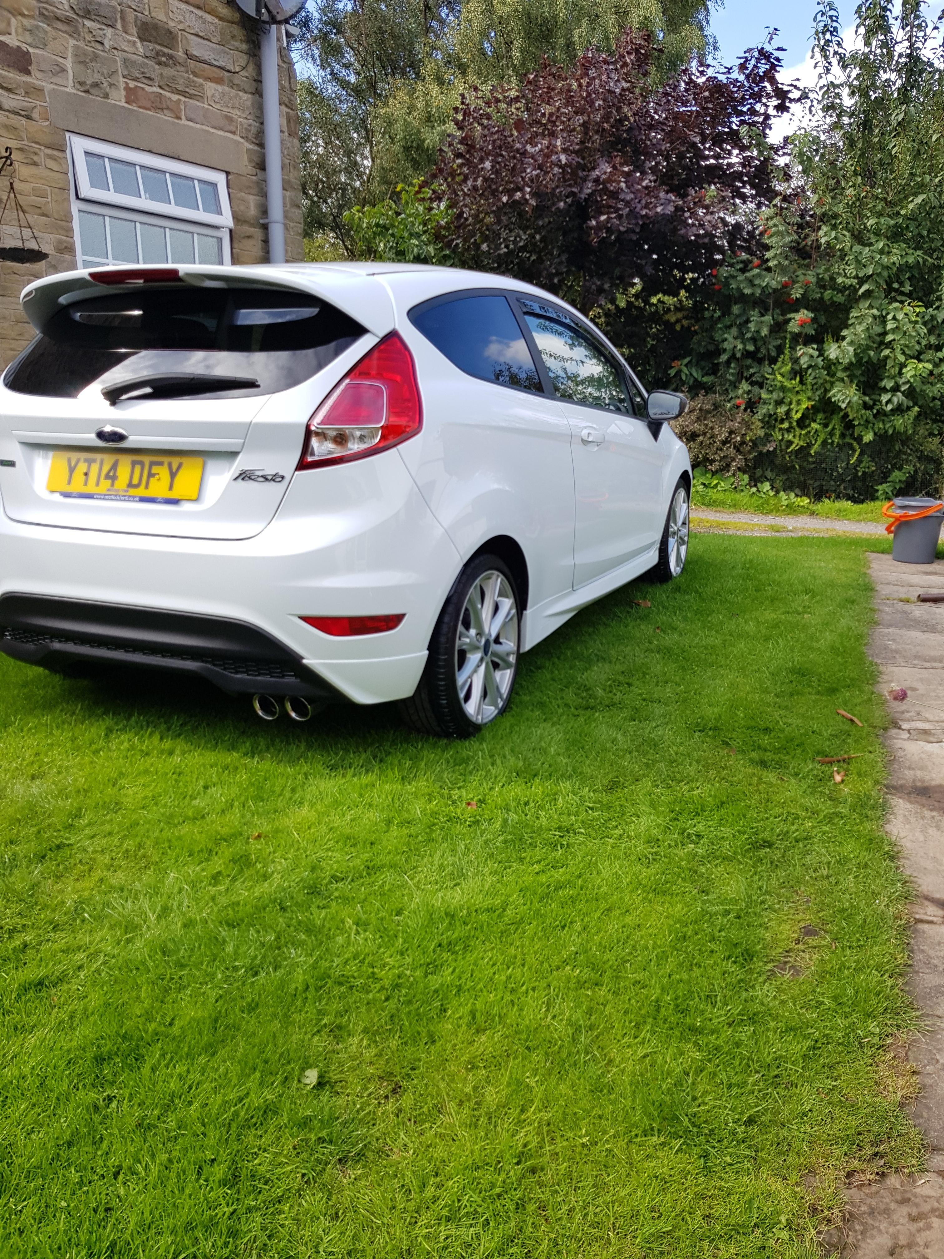 St Rear Diffuser For Mk 7 5 Zetec S Ford Fiesta Club Ford Owners Club Ford Forums