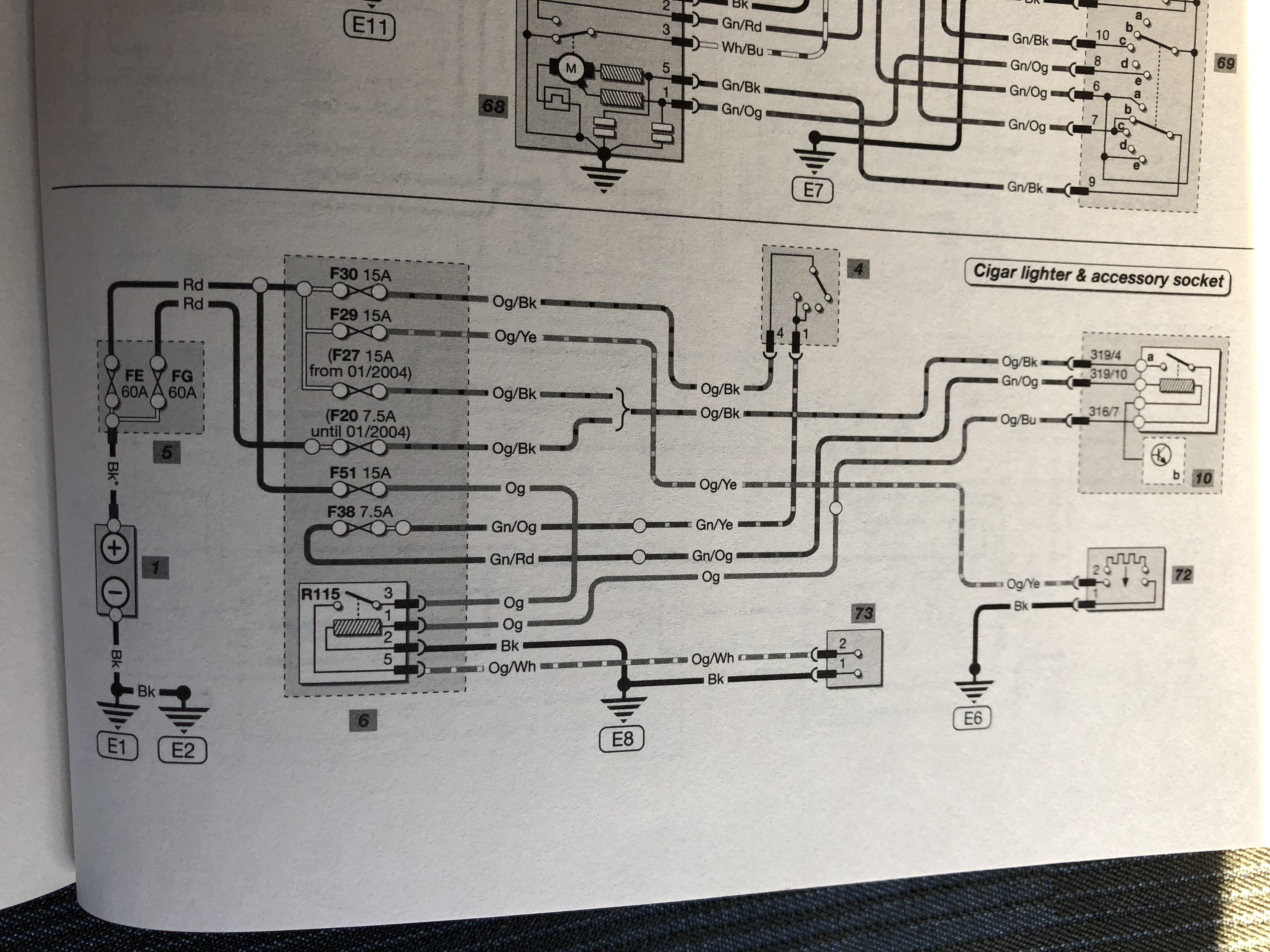 [SCHEMATICS_4LK]  MK6 Cigarette lighter wiring - Ford Fiesta Club - Ford Owners Club - Ford  Forums | Ford Puma Wiring Diagram |  | Ford Owners Club