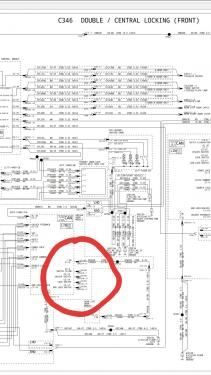 Wiring diagram required for MK3 internal central locking switch - Ford Focus  Club - Ford Owners Club - Ford Forums | Focus Central Locking Wiring Diagram |  | Ford Owners Club
